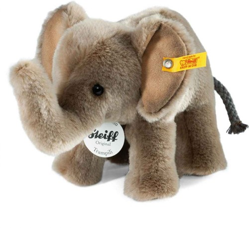 Steiff knuffel Trampili elephant, grey - 18cm