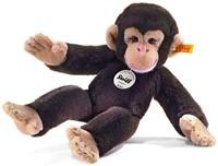 Steiff knuffel Koko chimpanzee, dark brown - 35cm