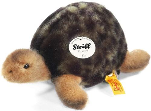 Steiff knuffel Slo tortoise, green - 20cm