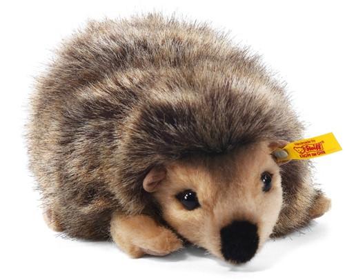 Steiff knuffel Joggi hedgehog, mottled brown - 16cm
