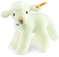 Steiff knuffel Linda lamb, white - 16cm