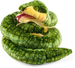 Steiff - Knuffels - Jamila snake, green/yellow