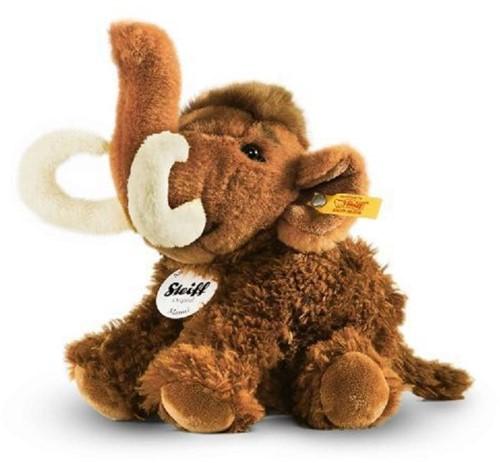 Steiff knuffel Manni mammoth, brown - 18cm