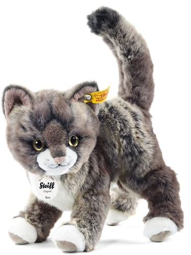 Steiff Kitty cat, grey/beige