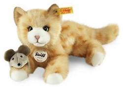 Steiff - Knuffels - Mimmi cat, red tabby