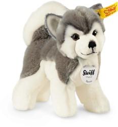 Steiff knuffel Bernie husky, grey/white 17 CM