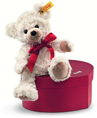 Steiff knuffel Sweetheart Teddy bear in heart box, cream - 22cm
