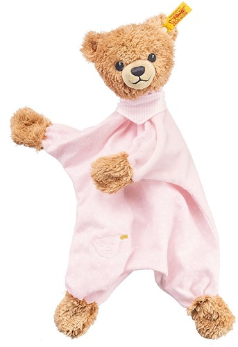 Steiff knuffel Sleep well bear comforter, pink - 30cm