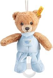 Steiff Sleep well bear music box, blue