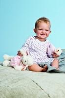 Steiff knuffel Sweet dreams lamb, pink - 28cm-3