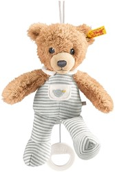 Steiff Sleep well bear music box, grey