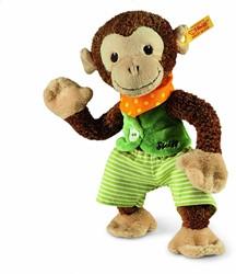 Steiff knuffel Jocko monkey, brown/beige 25 CM