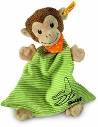 Steiff knuffel Jocko monkey comforter, brown/beige/gree 26 CM