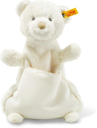 Steiff knuffel Soft Cuddly Friends Giggles Teddy bear comforter