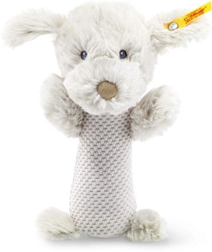 Steiff knuffel Soft Cuddly Friends Baster dog rattle