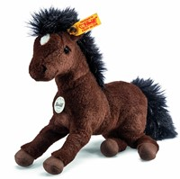 Steiff knuffel Little friend Hanno Hanoverian, brown - 22cm