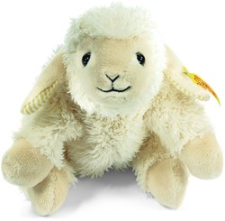 Steiff Floppy Linda lamb, cream
