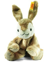 Steiff knuffel Floppy Hoppel rabbit, light brown 16 CM