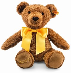 Steiff - Knuffels - Cosy Year bear 2017, brown