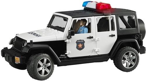 Bruder Politie Jeep met politieagent ( blanke huidskleur )en access - 2526