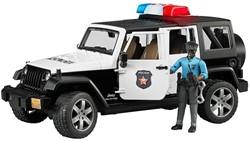 Bruder Politie Jeep met politieagent ( donkere huidskleur ) en acce
