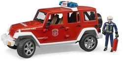 Bruder Jeep Wrangler Unlimited Rubicon Feuerwehr en brandweerman