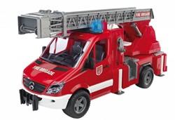 Bruder MB sprinter brandweer met licht en geluid ( incl. batterij )