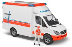 Bruder - MB Sprinter Ambulance + speelfiguur