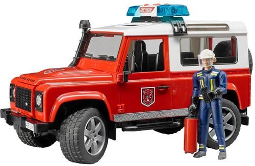 Bruder Land Rover Defender Stationwagen - Brandweer