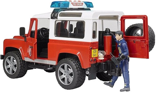 Bruder Land Rover Defender Stationwagen - Brandweer-2