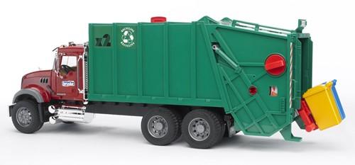 Bruder Mack vuilniswagen - 2812