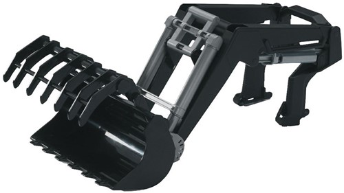 Bruder Accessories: Frontloader for tractor Series 03000