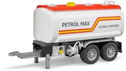 Bruder - Tank aanhangwagen voor vrachtwagens