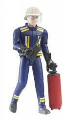 Bruder Bworld brandweerman met accessoires