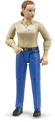 Bruder Vrouw met blanke huidskleur en blauwe broek