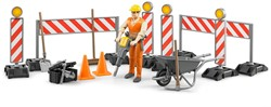 Bruder - Bworld Construction set