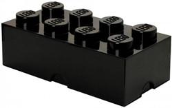 LEGO Opbergbox Lego brick 8 zwart