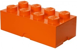 Lego Opbergbox brick 8: oranje