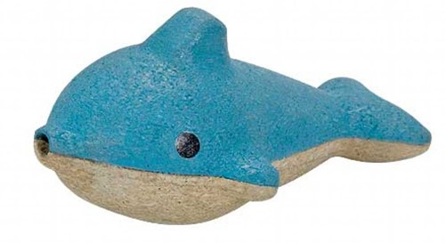 Plan Toys houten muziekinstrument Dolfijn fluitje