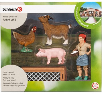 Schleich  Farm Life set boerenerf speelset 21053