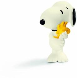 Schleich Peanuts - Snoopy Knuffelt Woodstock 22005