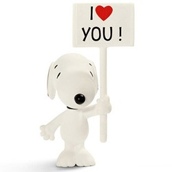 Schleich Peanuts - Snoopy I Love You 22006