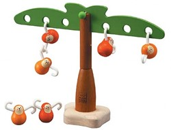 Plan Toys  houten kinderspel Hangende apen