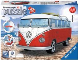 Ravensburger - Puzzels - Volkswagen bus T1 bulli - 3D puzzel (162 stukjes)