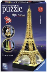 Ravensburger  3D puzzel Eiffeltoren night edition 3D