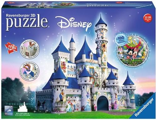 Ravensburger Disney Castle - 3D puzzel gebouw - 216 stukjes