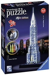 Ravensburger  3D puzzel Chrysler Building-Night Editio