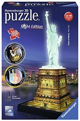 Ravensburger  3D puzzel Statue of Liberty-Night Editio