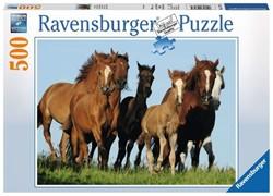 Ravensburger  legpuzzel Kudde paarden - 500 stukjes