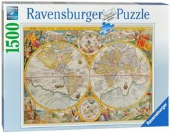 Ravensburger legpuzzel Wereldkaart  - 1500 stukjes